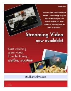 OverDrive Streaming Video Poster