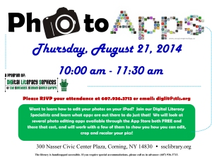 Photo Apps August 21, 2014