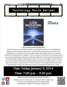 Close Encounters Flyer For Facebook