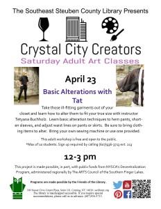 Crystal City Creators- April 23