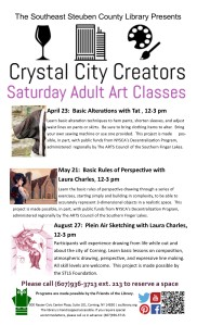Crystal City Creators List- April to August