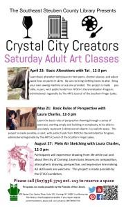 Crystal City Creators List- April to August