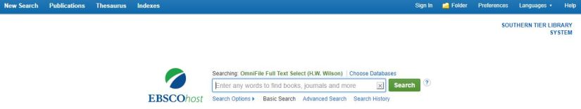 Ebsco OmniFile